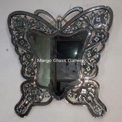 Butterfly venetian mirror