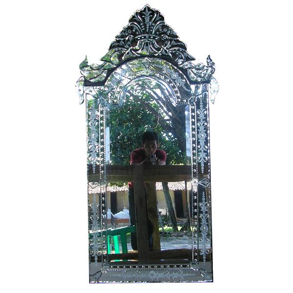 Venetian Mirror Black Mg 013058 Venetian Wall Mirror