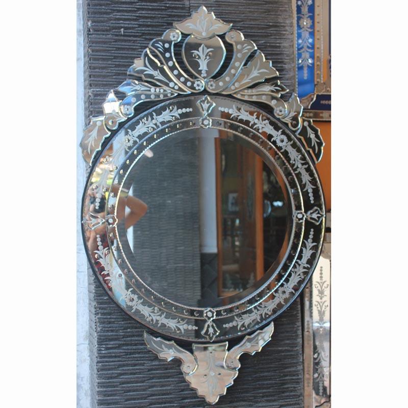 Venetian Mirror Round Suitable For, Long Narrow Venetian Mirror