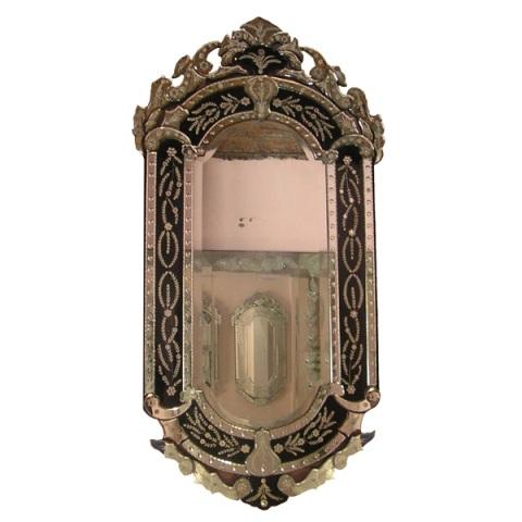 Venetian Mirror Black Mg 013022 Black Mirror Manufacture