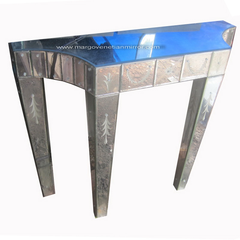 Attractive Mirrored Furniture | Venetian Wall Mirror - Antique Venetian  OG47