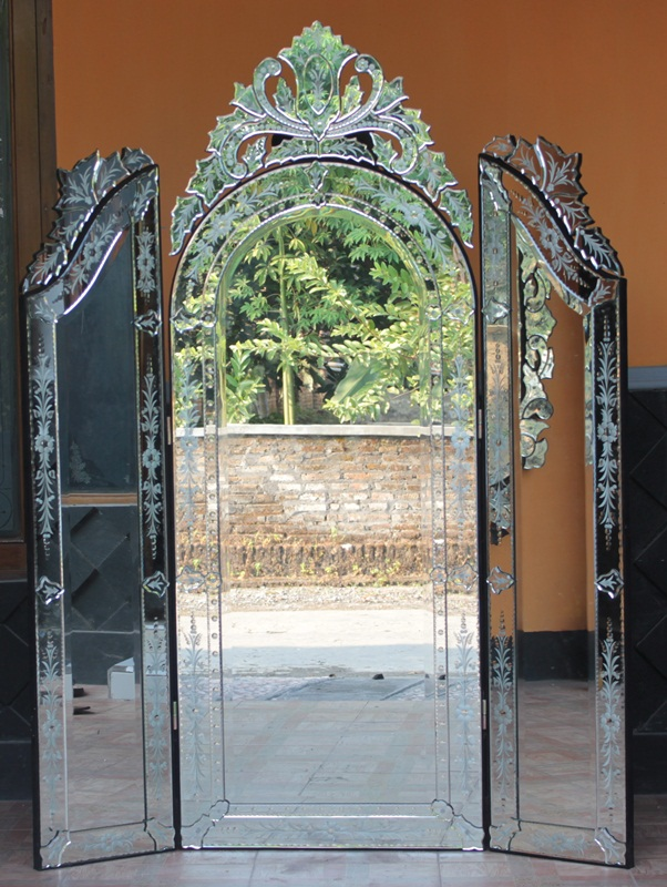 Tri Fold Venetian Mirror