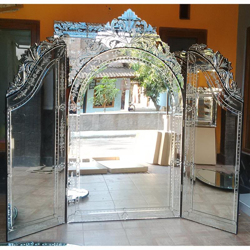 Tri Fold Venetian Mirror Mg 017015