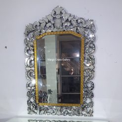 Venetian Mirror Murano MG 080058 Gold List