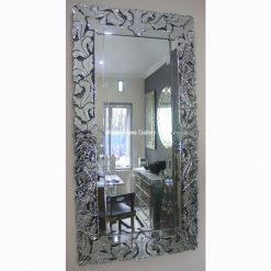 contemporary rugs mirror