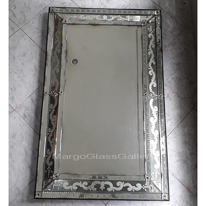 Value Of Antique Venetian Mirrors, Long Narrow Venetian Mirror