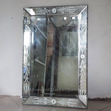 rectangle antique mirror