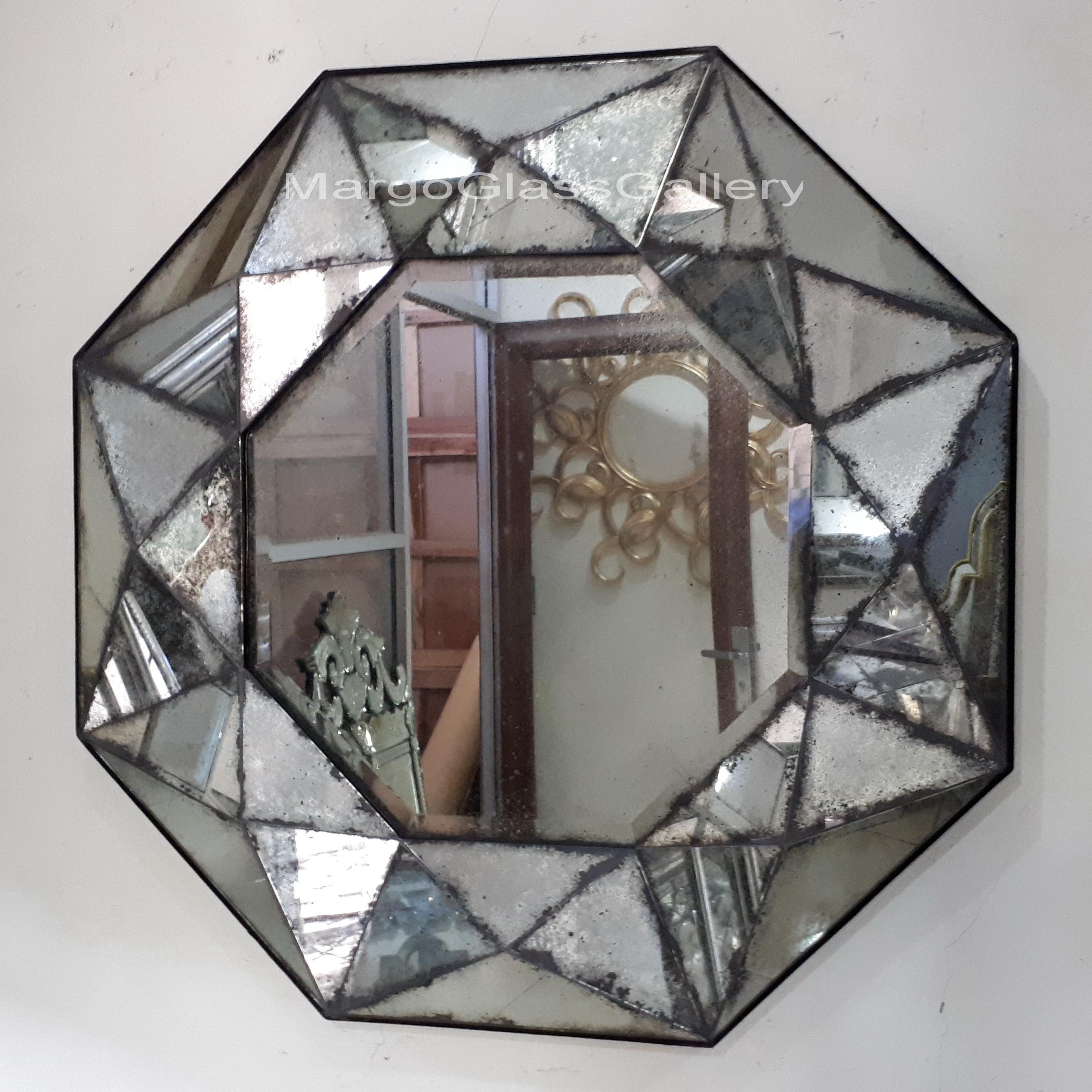 Antiqued Mirror Nadia