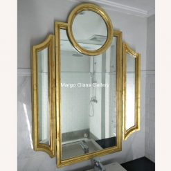 Tri-Fold Stand-Up Mirror