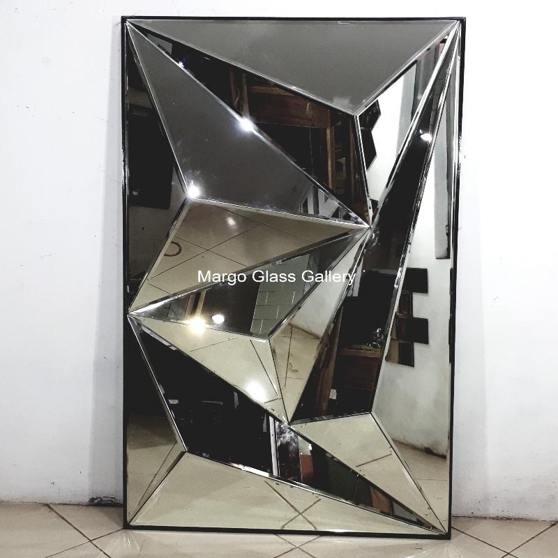 Rectangular wall mirror 3D