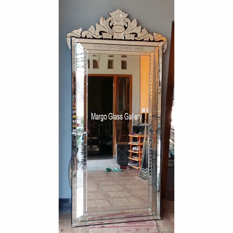 Venetian Mirror Style Large Verde Mg 001147 Best Seller Manufacture Wholesale