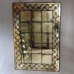 Antiqued Panel Mirror Jerico MG 014374