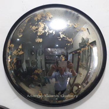 Antique Convex Round Mirror