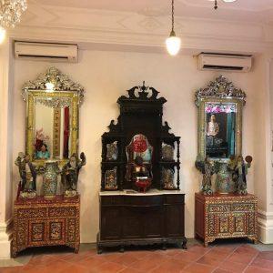 industrial antique mirror