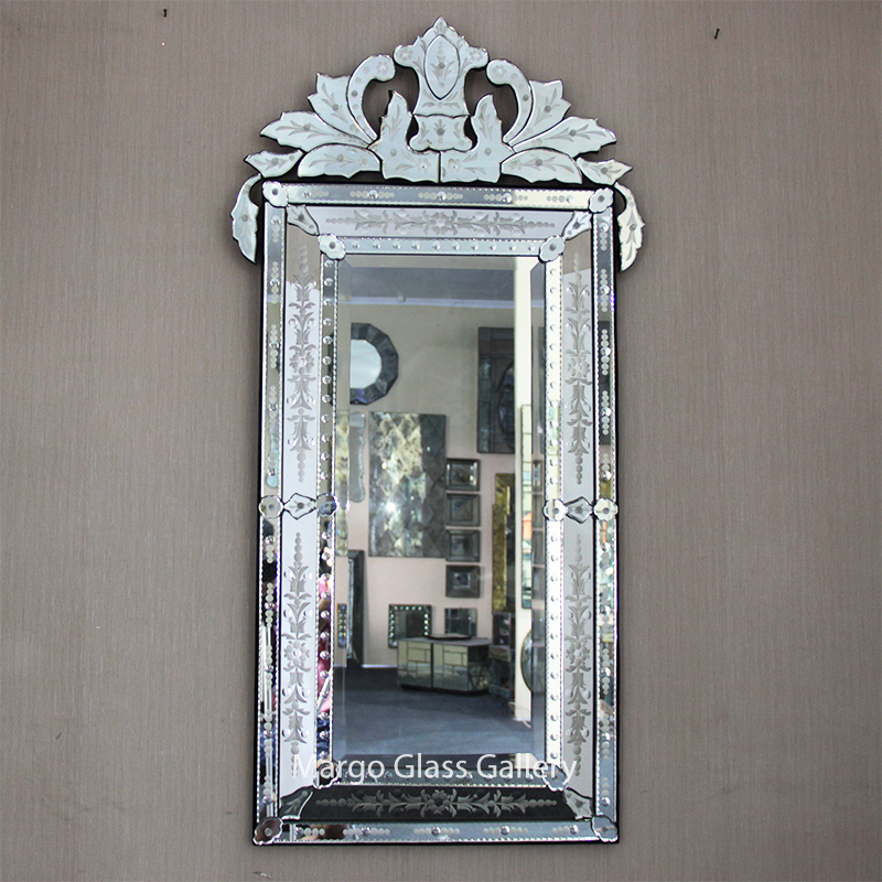 Venetian Mirror Large Rectangle
