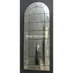 Antiqued wall Mirror MG 014145 Tiara