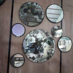 Antique Mirror Round