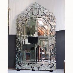 Venetian Wall Mirror Full Crown MG 080061