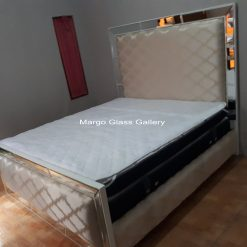 Bed Furniture Mirrored
