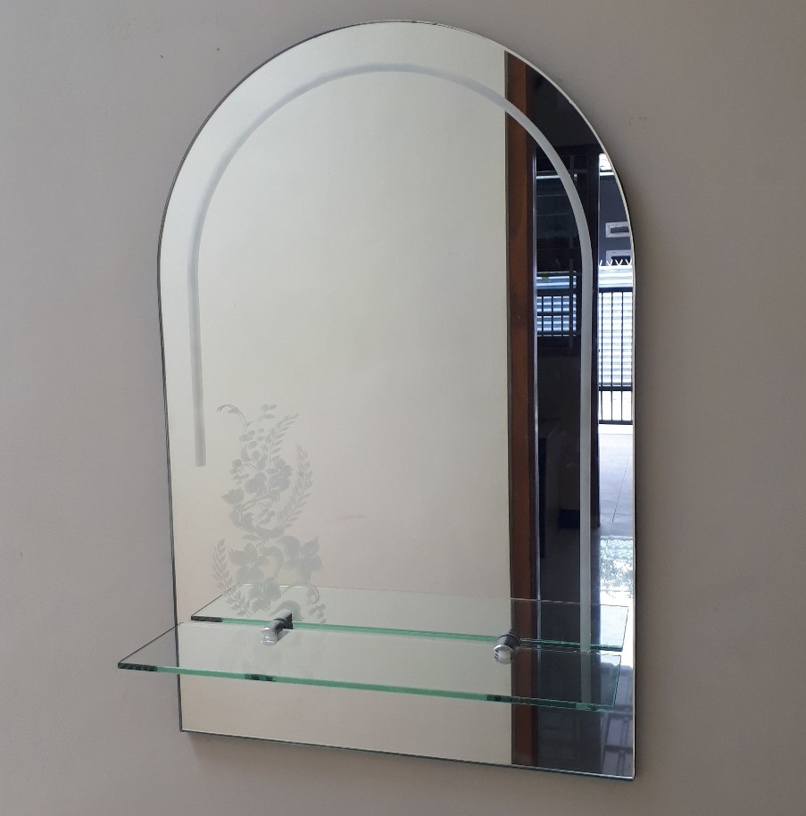 bathroom wall mirror
