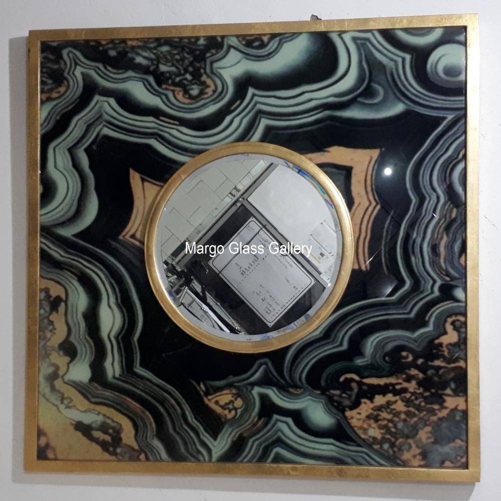 Acid wall mirror
