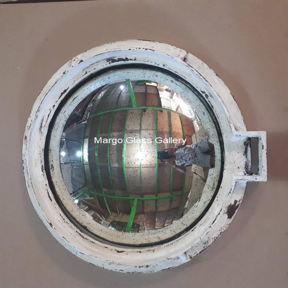 Industrial metal frame convex