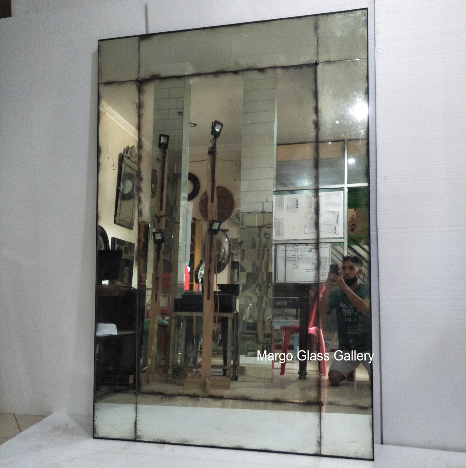 Antique Mirror Rectangle
