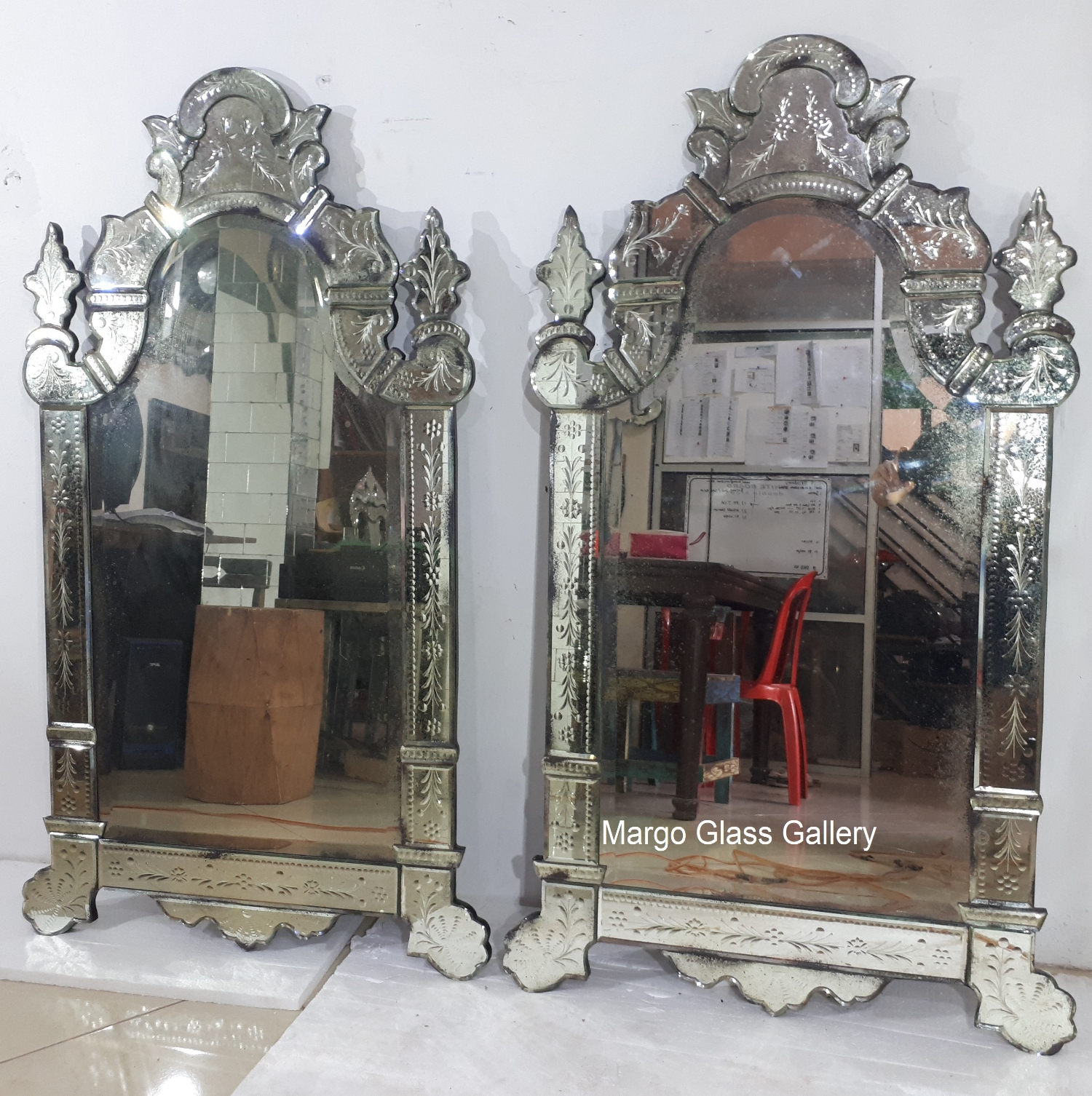 French Venetian Mirror