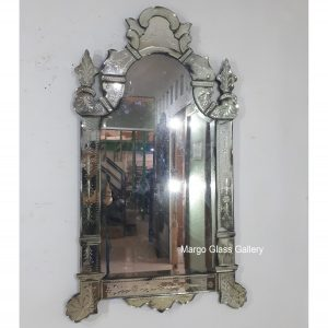 Antique Venetian Mirror 140x70cm (7)