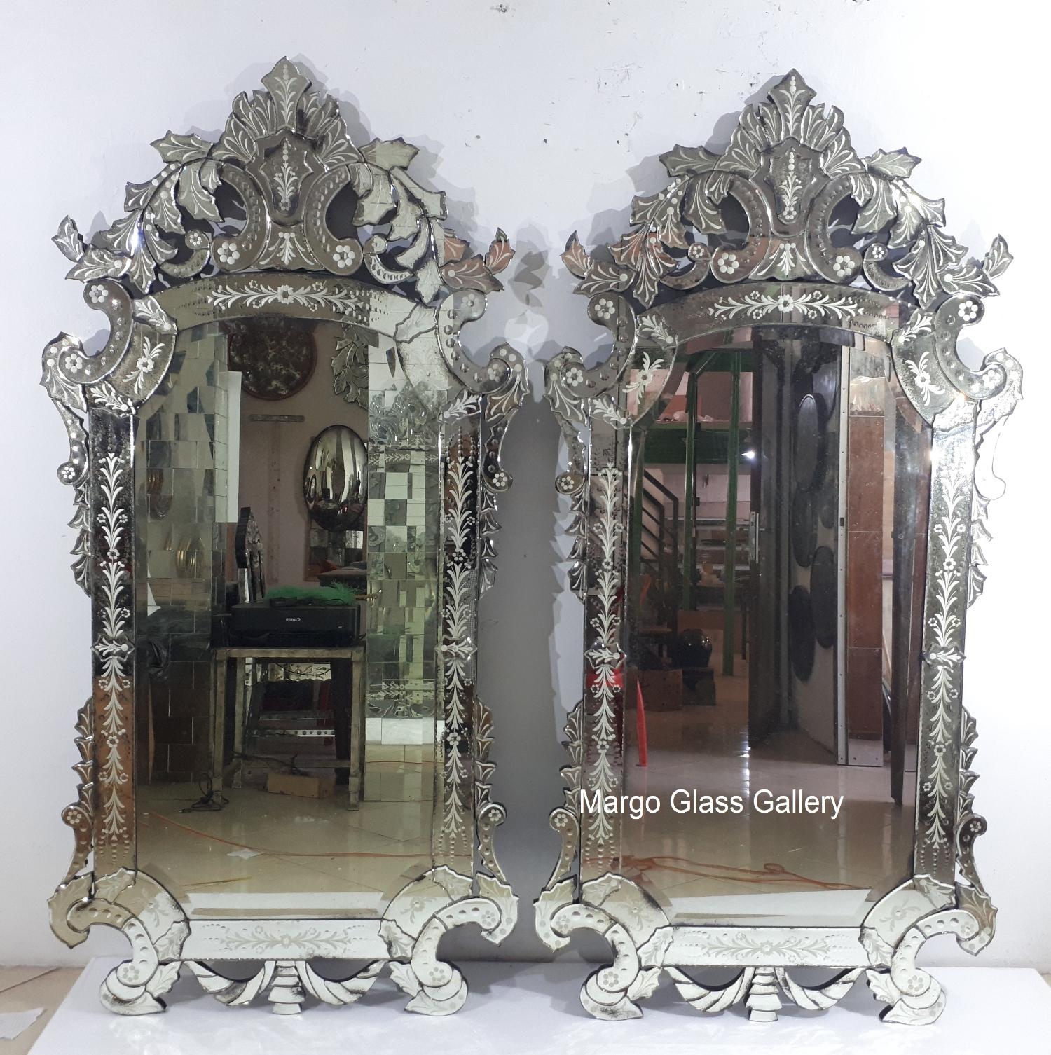 Antique Style Venetian Mirror