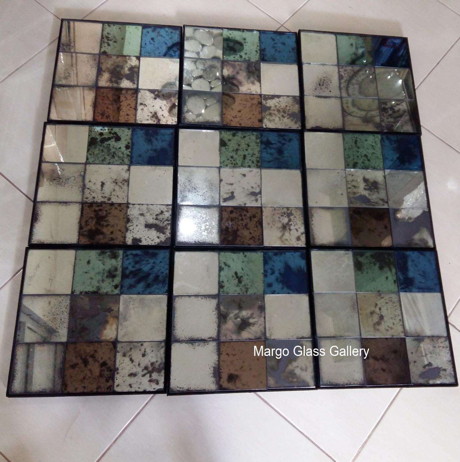 Antique Mirror Panel Style MG 014420