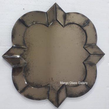 Antique Mirror Deco brown
