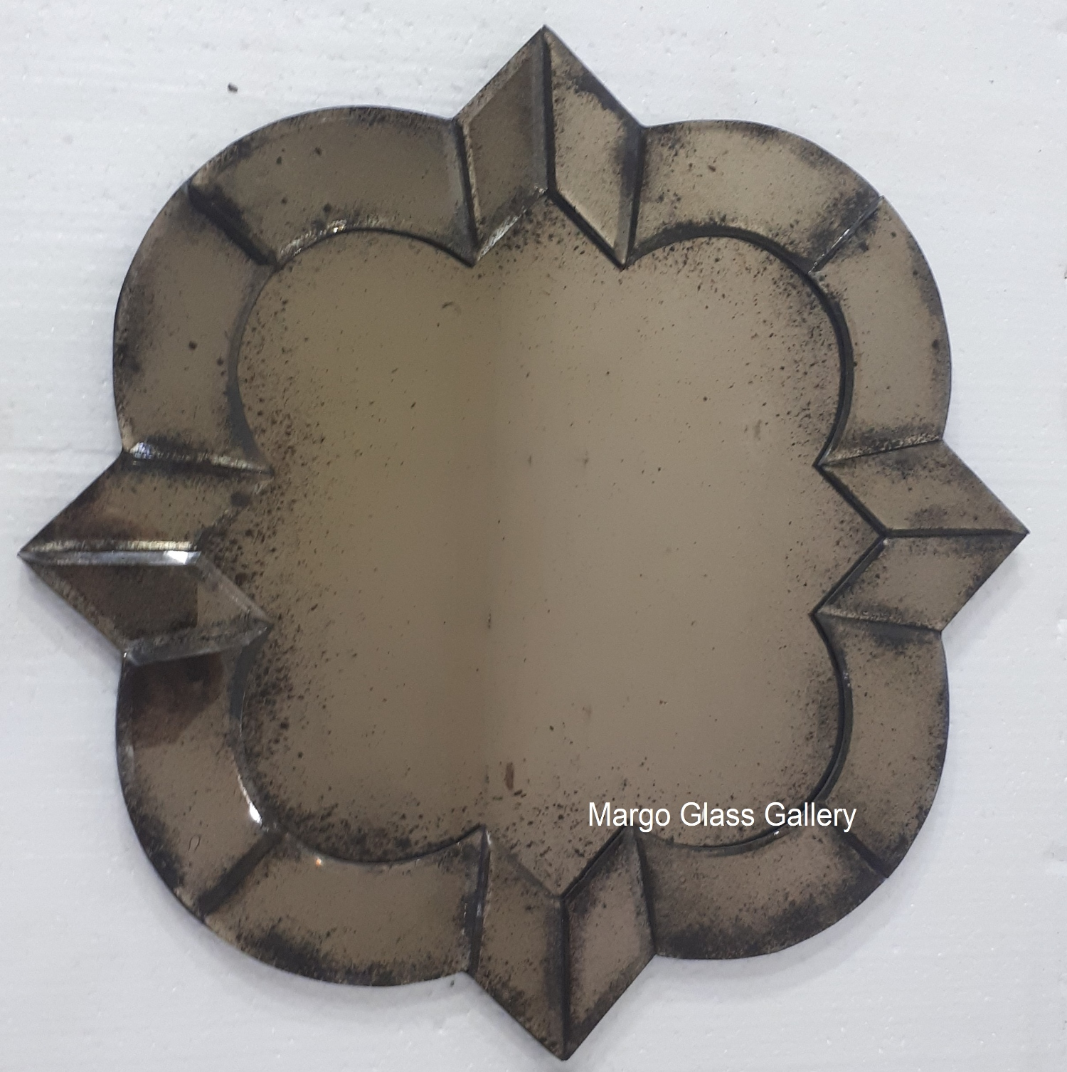 Antique Mirror Deco brown