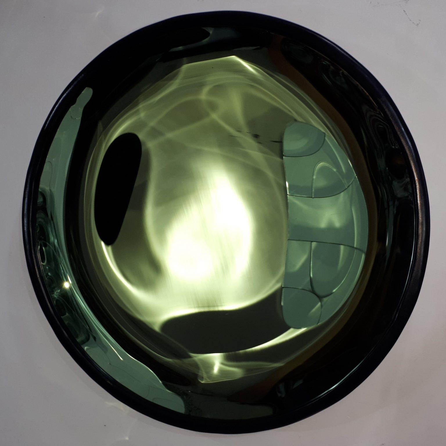 Concave Mirror Green