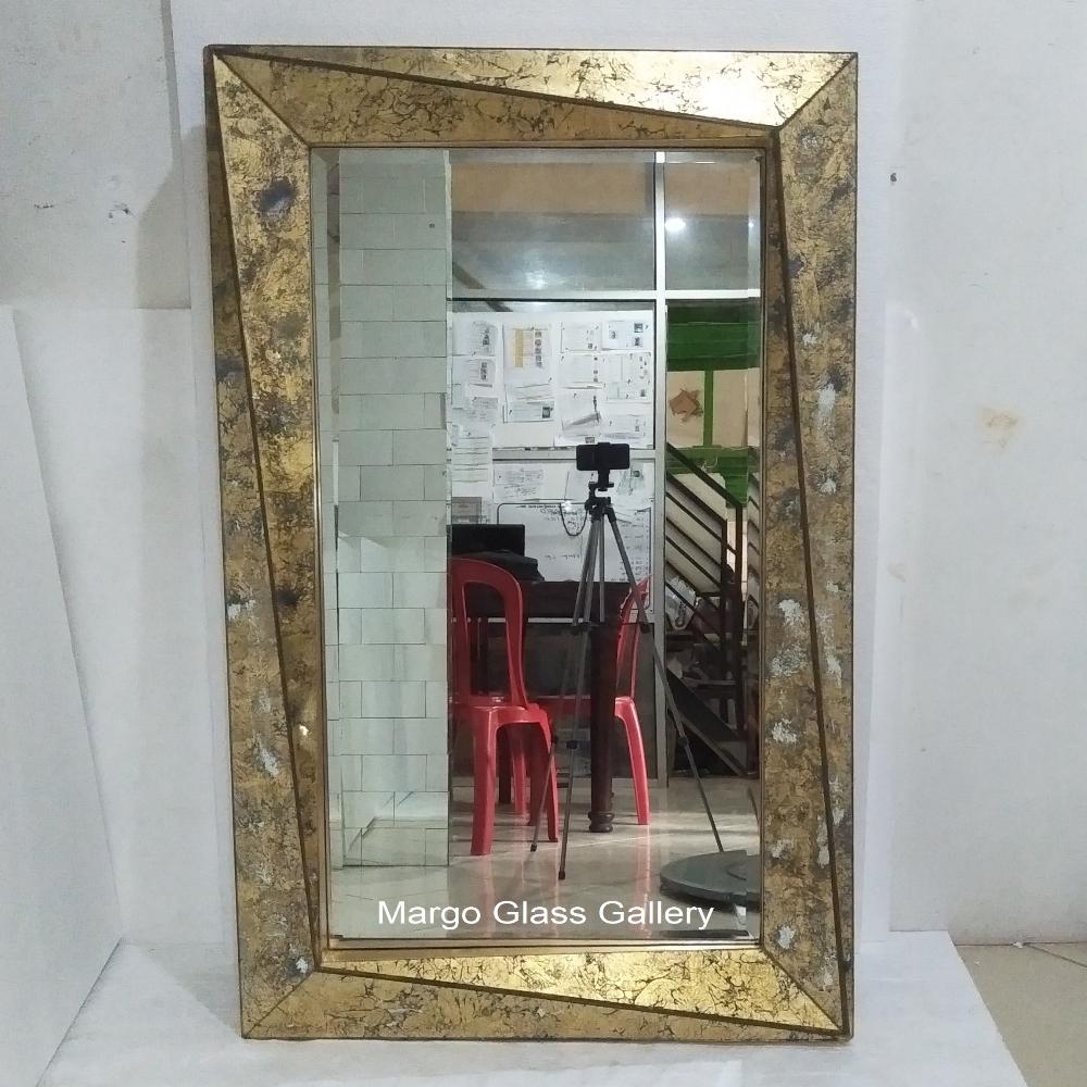 Verre Eglomise Mirror