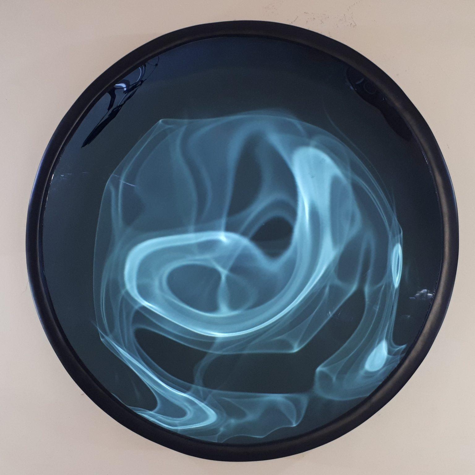 Concave Mirror Blue