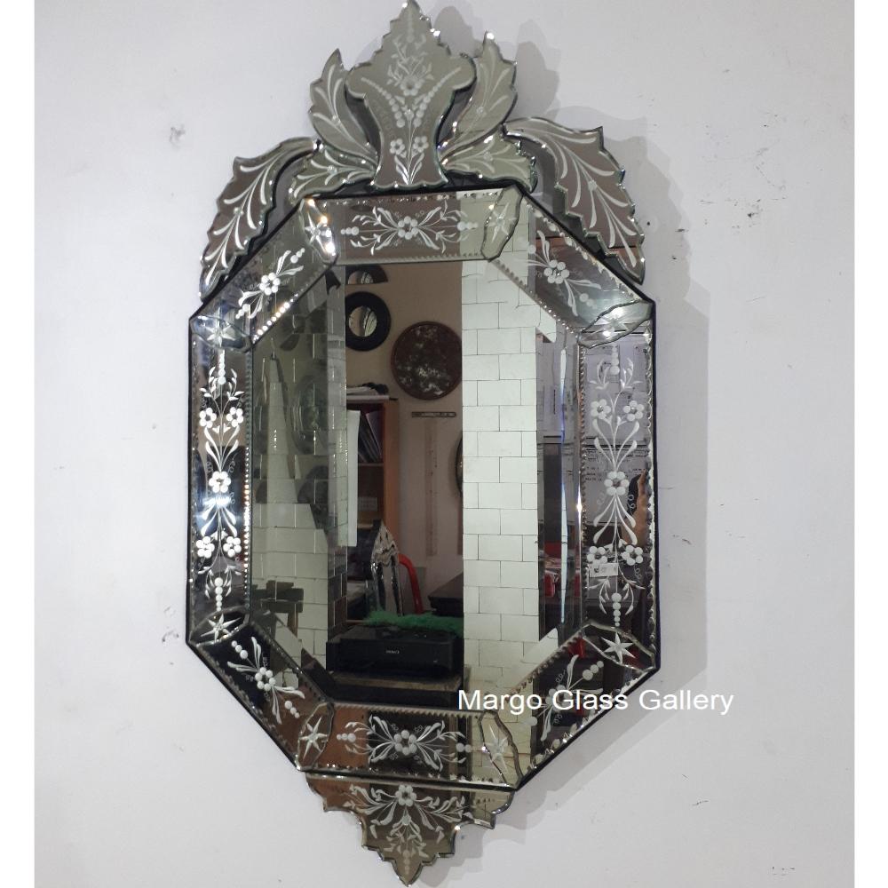 Octagon Venetian Mirror