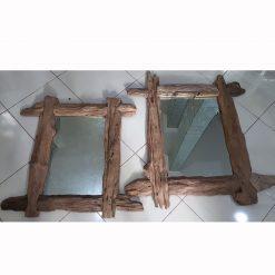 MG 019005 Rustic Teak Wood Frame 120x80cm (2)