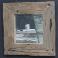 MG 019007 Rustic Teak Wood Frame 50x50cm