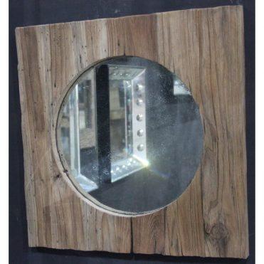 MG 019009 Rustic Teak Wood Frame 50x50cm