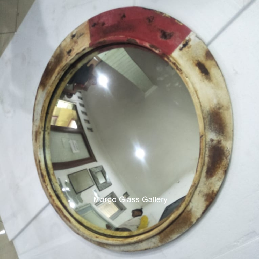 MG 022003 Industrial Metal Frame Mirror