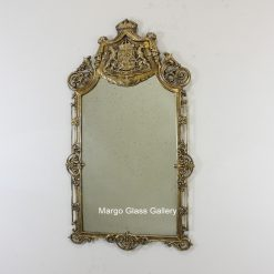 Industrial Metal Frame Gold MG 029001 size 124x70cm
