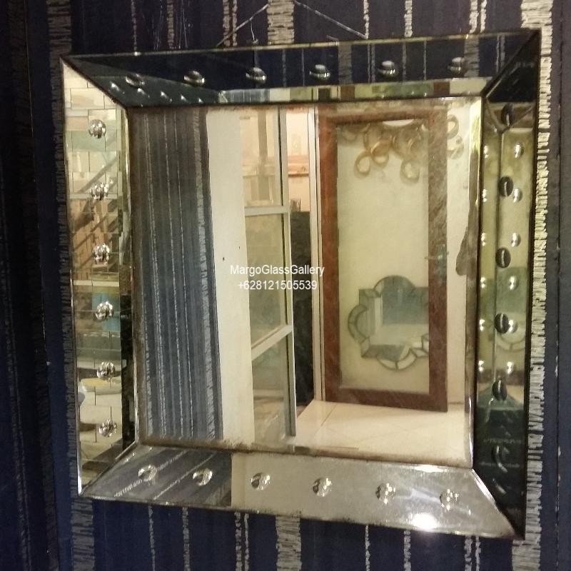 Antique mirror panels