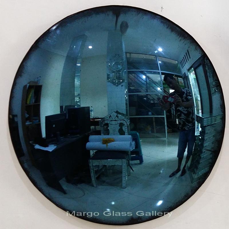 antique convex mirror