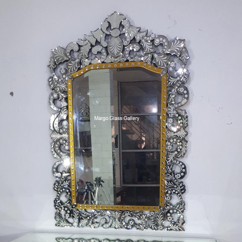 Antique mirror large